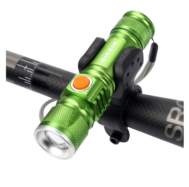 Zk30 Led bicycle Light Flashlight Q5 3500 lumens 3 modes LED Bike Bicycle Front Light Lamp Waterproof zoomable Torch Lights in Bicycle Light from Sports Entertainment