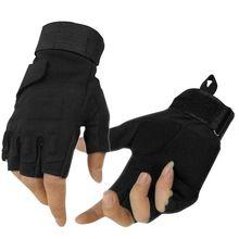 Горячее предложение! Распродажа! Уличные перчатки охотничьи зимние ветрозащитные спортивный без пальцев военные тактические охотничьи спортивные перчатки для верховой езды