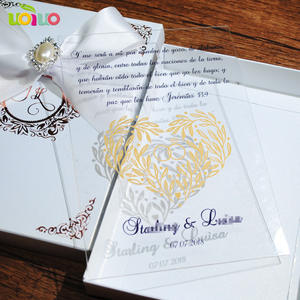 Shop discount invitation cards models uoiuo laser cut gold acrylic lace invitation card in china stopboris Images