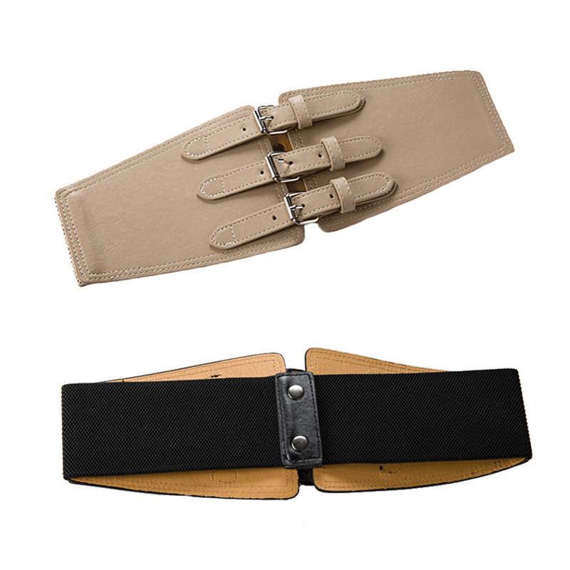 Maikun ремень женский ремни для женщин PU кожаный Широкий женский пояс камербанд Пояс для платья штаны harajuku