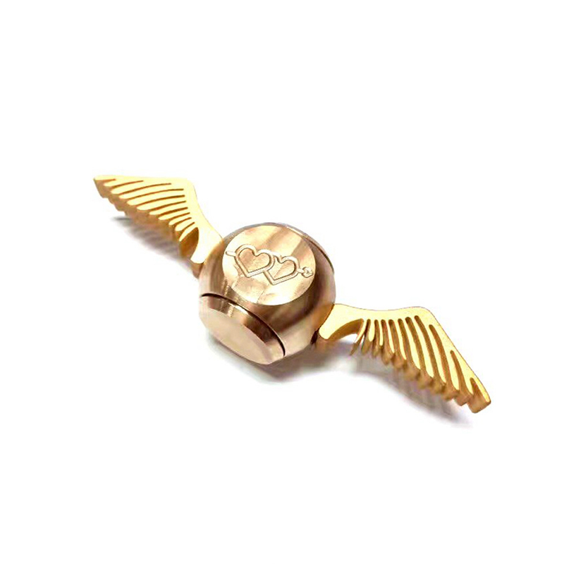 Kärlek Cupid Hand Spinner Golden Snitch Harry Potter Till Gyro Kub Metalllack Alloy Finger Spiner Antitress Wheel Toy Cube Top