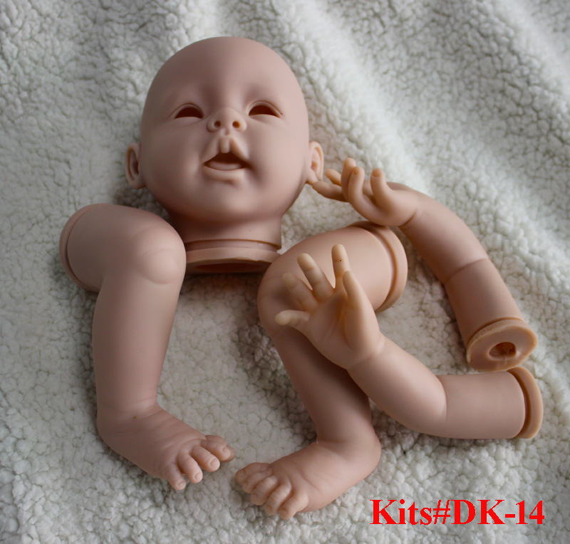 2PCS/Set Reborn Doll Kits for 22inches Soft Vinyl Reborn Baby Dolls DK-14 Accessories DIY Mold Kits Realistic Toys DIY Reborn daikin mc70lvm
