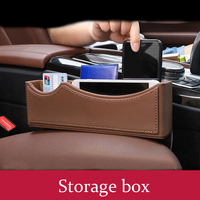 For Mercedes Benz A B C E S Class GLC CLA CLS GLE GLS GLK Car Styling Gear Shift Side Storage Box Holder Phone Box Accessories