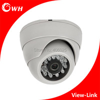 Free Shipping CWH A4007T 1MP 1 3MP 2MP HD Analog Dome Camera With 3 6mm Lens