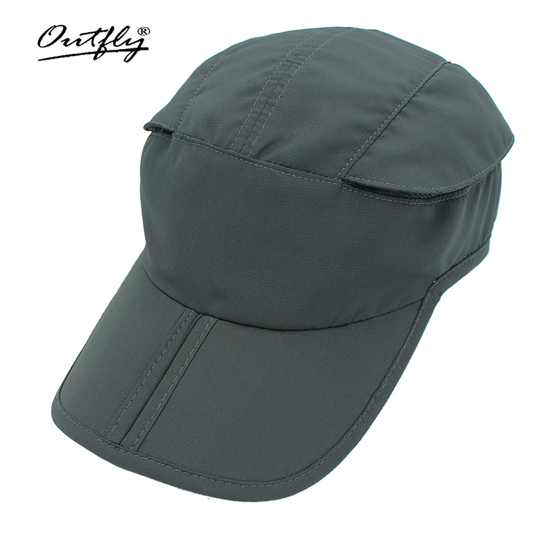 Summer cycling sports cap for men and women with foldable cap duck tongue cap with mesh ventilation and sunscreen on both sides