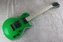 Free shipping ltd guitar top quality EMG Pickup esp Deluxe green guitar Custom 22 Electric Guitar China guitar factory(China)