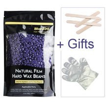 2017 New Lavender Flavor Hair Remover Wax 250g Hair Removal Bean Hot Film Depilatory Wax For