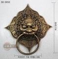 170mm Chinese antique bronze door handle copper ring shop first beast handle  brass door handles DH-0053