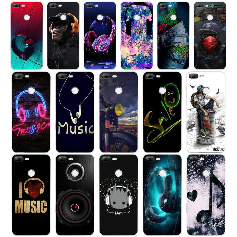315WE słuchawki miękkie silikonowe etui z tpu etui na telefon dla huawei Honor 8 9 10 Lite 8X p 8 9 lite 2017