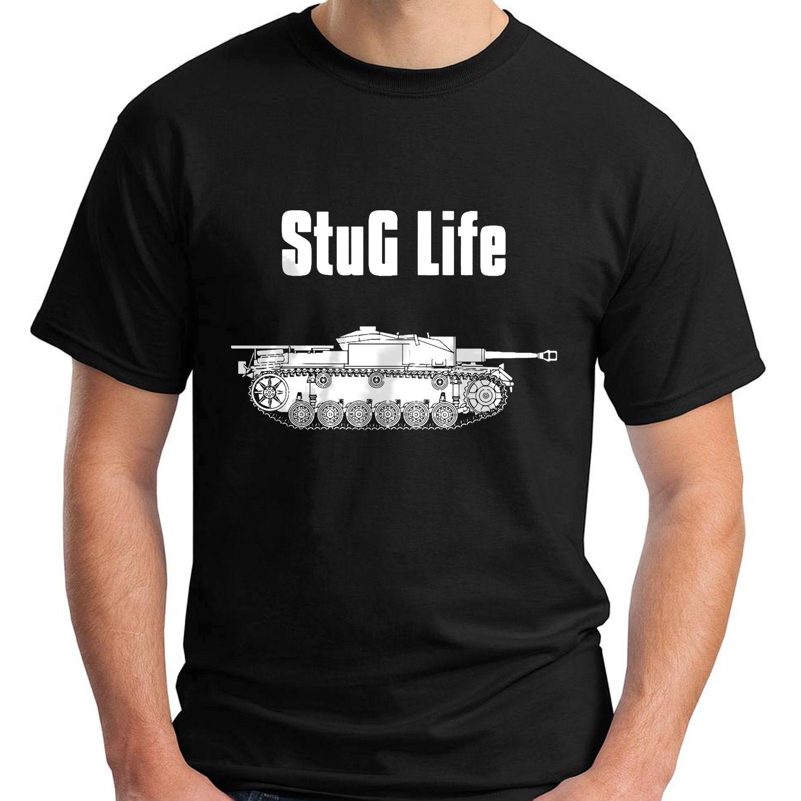 Новый Stug жизни военные Книги по истории визуализированного черный Мужская футболка Размеры S 5Xl