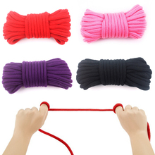 Adult Sex Cotton Bondage Rope Play Strap Restraint SM Fetish Games Sex Strap Restraint Cosplay Toys