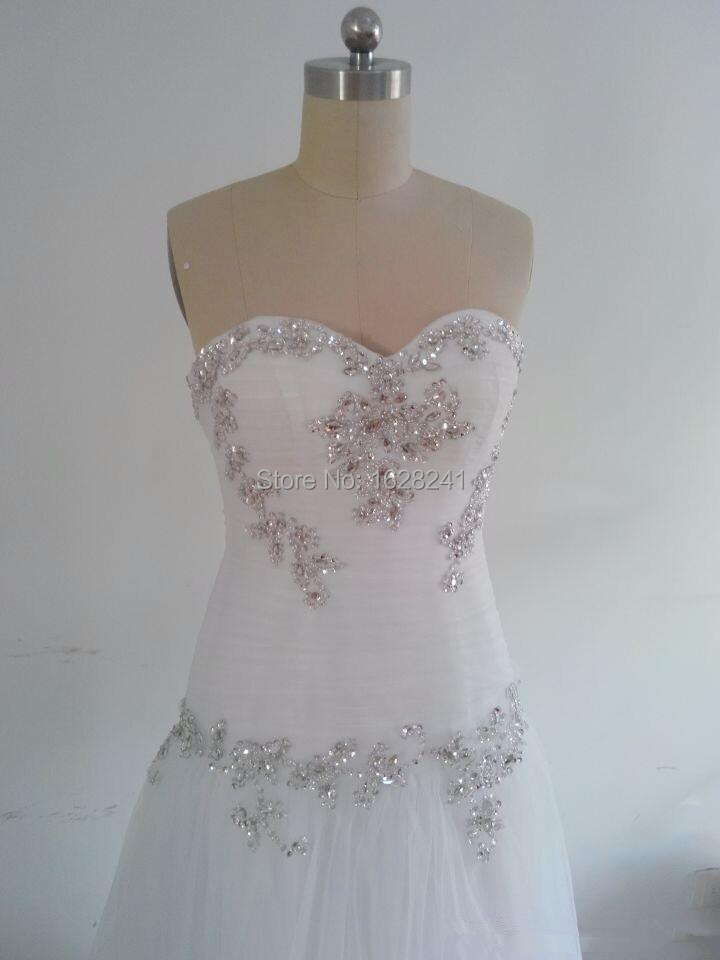 ... 2015 Wedding Dresses Pnina Tornai Sweetheart Bling Bling with Tulle  Beaded Lace Up at Back Chapel ... be0c3ef33ccb