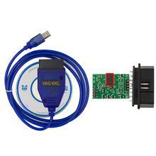 цены на diagnostic auto OBD2 VAG USB KKL 409 Car Vehicle OBD2 Diagnostic Scan Tool Cable for VW Audi Seat VAG 409 Cable  в интернет-магазинах