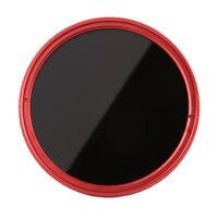 FOTGA 40.5mm ND100 Variabile Fader ND Filter Lens ND2 a ND400 nd2 ND4 ND8 ND16 ND32 Neutral Density Rosso