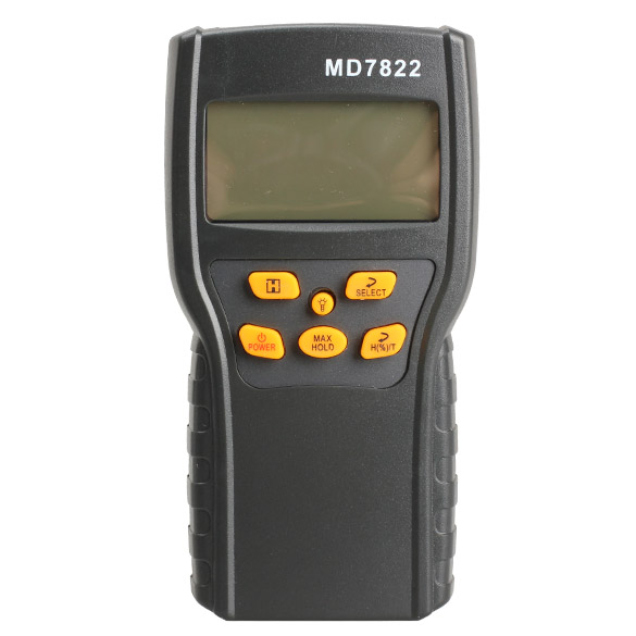 MD7822 Digital Grain Moisture Meter Temperature Meters Tester Measuring Probe Wheat Corn Rice Moisture Test Meter w/ LCD Display high precision digital electric moisture meter wood timber plank humidity moisture content tester gauge with 11mm probe vc2ga