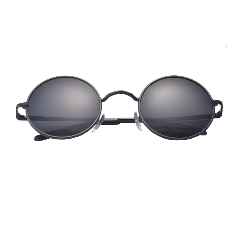 ca9498714df9f Homens pequenos mulheres óculos de condução óculos de metal retro do vintage  john lennon new marca designer clássicos óculos redondos polarizada em  Óculos ...
