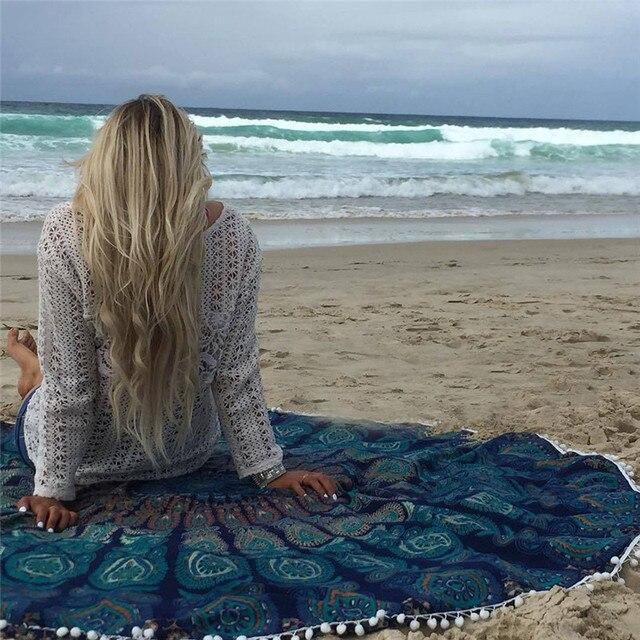 2018 Lato Wielofunkcyjny Mat Beach Poduszki Ręcznik Plażowy Odkryty Piknik Mata Plażowa Rodzina Wallpapersfor Kobiet wysokiej jakości