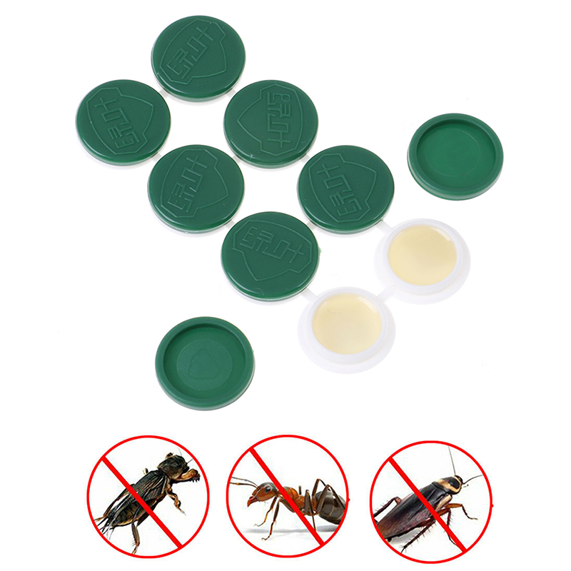 8PCS/1 Box Contagious Cockroach Gel Poison Bait Insecticide Cockroach Trap Serial Killer Pest Control Drugs Convenient Hygiene