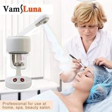 Vamsluna Nano Ionic Warm Mist Facial Steamer Sauna SPA Mist Moisturizing Sprayer for Pores Cleanse Face Humidifier