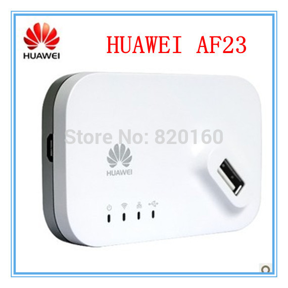 Huawei AF23 LTE 4G 3G WIFI Sharing Router Dock USB WLAN ANTENNAS PORT Ethernet WiFi Hotspot