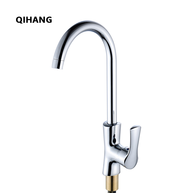Kitchen Faucet Single Lever Handle Rotate Faucets 360 Degree Chrome Kitchen Mixer Faucet Brass Tap Torneira Para Cozinha Torneir