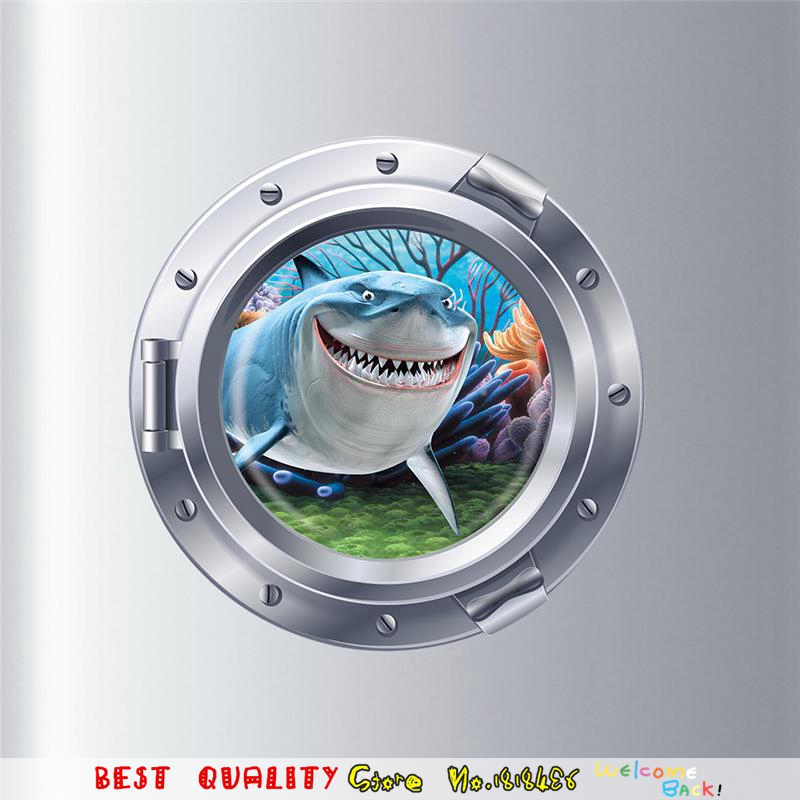 3d Diy Submarine Porthole Wall Stickers Kids Room Decor