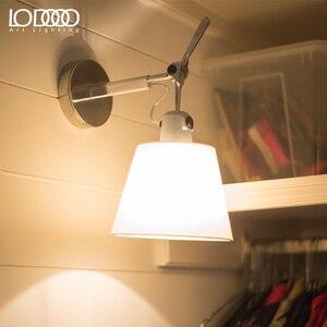 Image 2 - LODOOO 북유럽 현대 이상적인 서스펜션 조명기구 펜던트 조명 사무실 연구실 미니멀리즘 E27 회전 교수형 펜던트 램프