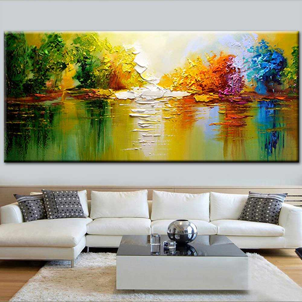 Thick Impasto Canvas Oil Painting