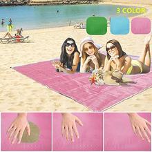 200×200 см большой волшебный Быстрый свободный от песка коврик для пикника и похода уличный пляжный коврик полотенце одеяло коврик Прямая доставка
