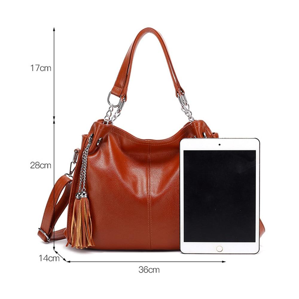 858ecf62 Large Capacity Women Bags Shoulder Tote Bags bolsos with tassel famous  designers