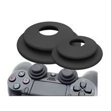 15c574246 2 في 1 الهدف مساعد حلقة لينة سيليكون صدمة امتصاص التناظرية الفرح عصا لعبة  اكسسوارات لسوني بلاي ستيشن 3 PS4 برو XBOX ONE