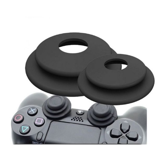 2 in 1 Aim Assistant Ring Soft Silicone Shock Absorber Analog Joy Stick Game Accessories for Sony Playstation 3 PS4 Pro XBOX ONE