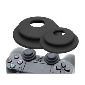 Image 1 - 2 in 1 Doel Assistent Ring Zachte Siliconen Schokdemper Analoge Joy Stick Game Accessoires voor Sony Playstation 3 PS4 pro XBOX EEN