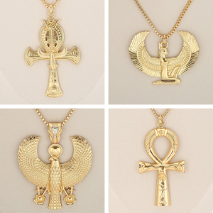 African Gift Gold Color Egypti