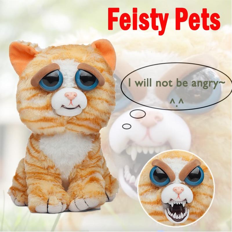 Regalo de navidad Feisty Pets Prank Juguetes de peluche con - Muñecas y peluches - foto 2