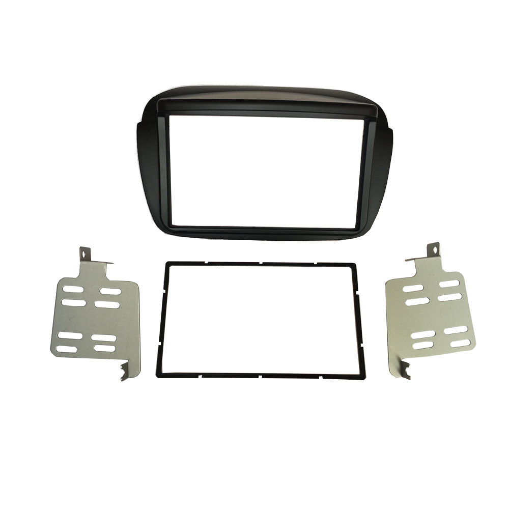 For FIAT DOBLO Radio CD DVD Stereo Panel Dash Mount Double Din Fascia Installation Trim Kit Frame Plate Bezel runacc smart portable fish finder wireless fishfinder portable fish finder with wireless sonar sensor and lcd display