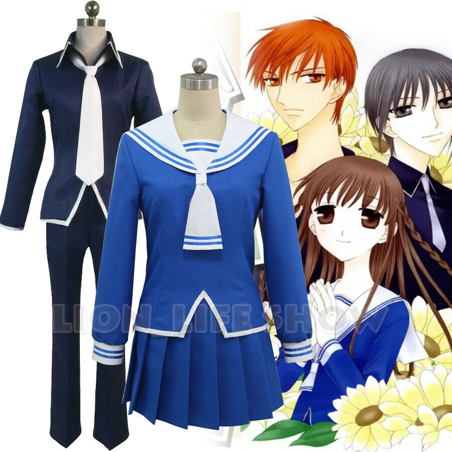 FRUITS BASKET Tohru Honda Soma Yuki School Uniform Sailor