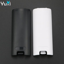 YuXi 40pcs Black White Battery Door Cover Lid Replacment for Nintendo Wii Controller