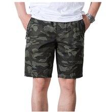 2019 Summer shorts Mens Shorts High Quality Military Short Pants Men 100% Cotton Solid Jogger Casual Beach