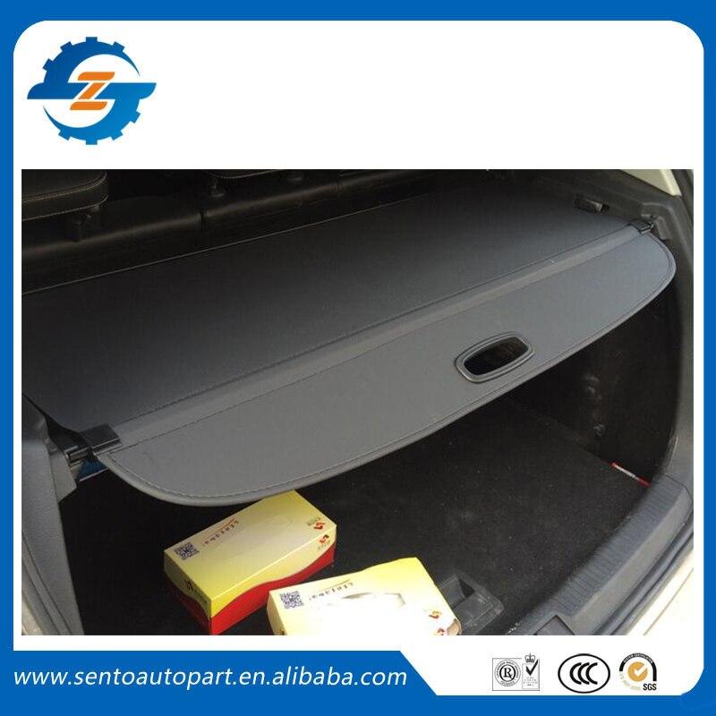Защитный чехол автомобиль задний багажник безопасности щит оттенок черный бежевый цвет грузов крышка подходит для гольфа 7 2014 2016