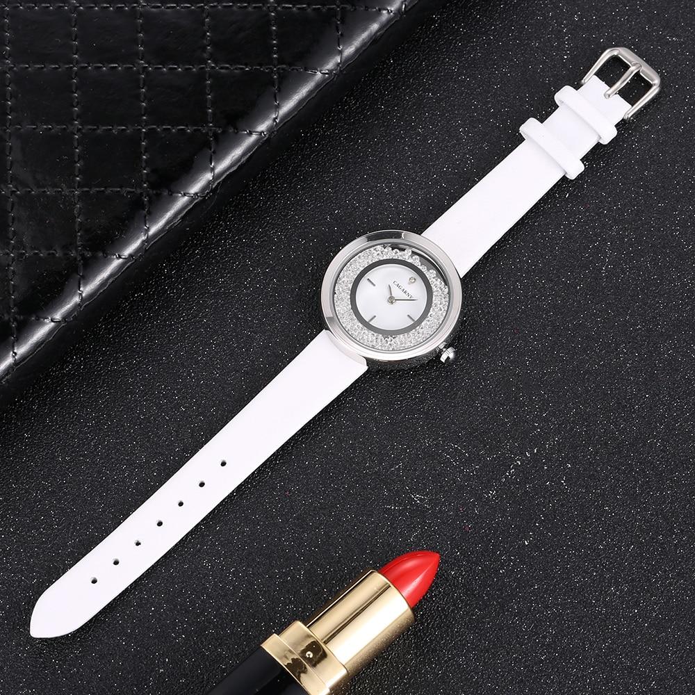Super Slim Sliver case vogue leather strap Watches Women Top Brand Luxury Casual Clock Ladies Wrist Watch Lady Relogio Feminino (7)