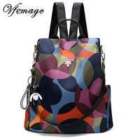 Nova mochila feminina oxford multifuction bagpack casual anti roubo mochila para adolescentes meninas mochila 2019 sac a dos