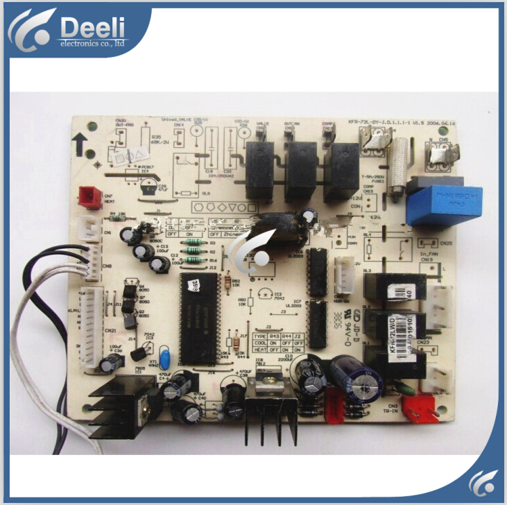 95% new good working for KFR-72LW/DY-X conditioning motherboard computer board on sale 95% new for haier refrigerator computer board circuit board bcd 198k 0064000619 driver board good working