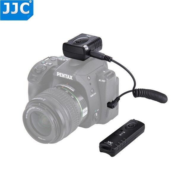 Jjc 카메라 셔터 릴리즈 16 무선 채널 433 mhz rf 무선 원격 컨트롤러 (pentax kp/K 70 용)