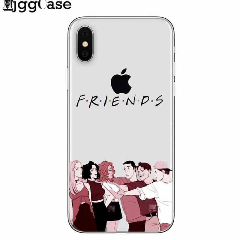 С героями телесериала «друзья» забавные Central perk парк программный телефон Чехол Fundas для iPhone 7 Plus 7 6 6 S 8 8 plus X XS Max samsung