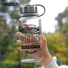 NOCCOL Outdoor 1000ml 700ml Gym Water Bottles Summer New Camping Coffee Tea Sport Drink Bottle Kettle Drinkware Botella De Agua