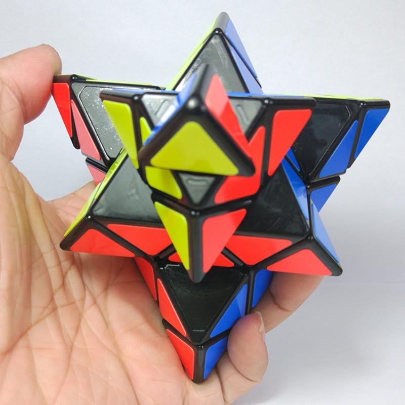 4x4x4 Master 4-rétegű háromszög Magic Cube sima sebesség Cubo Magico puzzle játék Oktatási játék gyerekeknek Ajándék (S0