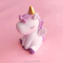 Two size 3D unicorn Shape Silicone mould aromatherapy plaster gypsum crafts Jell