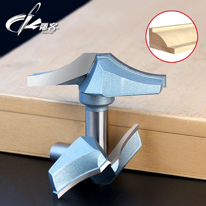 1PCS Woodworking Tool Classical Plunge Bit Router Bit 1/2 Shank  Slotting cutter milling cutter for wood high grade carbide alloy 1 2 shank 2 1 4 dia bottom cleaning router bit woodworking milling cutter for mdf wood 55mm mayitr