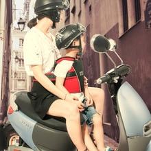 2017 Quality Motorcycle Back hold Vest Safety Belt Adjustable Electric Riding Vehicle Safe Strap Carrier Harness LB-M0160060